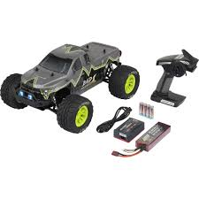 100 Monster Energy Rc Truck Reely Bad 1 Brushless 110 RC Model Car Electric Truck 4WD