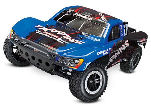 Traxxas Slash 2wd VXL TQi 2.4ghz Without Module Truck Toys - Blue Body