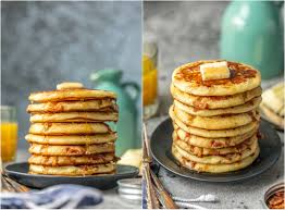 Bisquick Pumpkin Puff Pancakes by Bacon Pancakes The Cookie Rookie