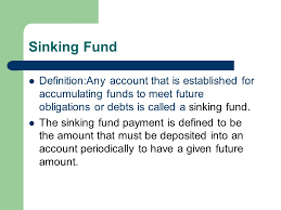 Sinking Fund Calculator Compounded Weekly by 3 3 Future Value Of An Annuity Sinking Funds An Annuity Is Any