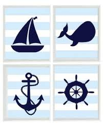 nautical wall art canvas or prints distressed wood effect