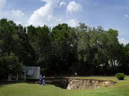 Sinkholes Alachua County Fl by This Could Be The Start Of A Big Sinkhole Season News