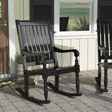 August Grove Oisin Porch Rocking Chair & Reviews | Wayfair