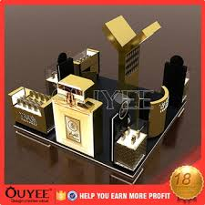 Decoration Perfume Shop Mall Kiosk Ideas Cardboard Display Ouyee94