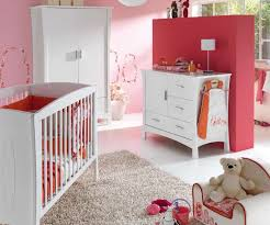 chambre bebe couleur chambre bébé fille et lit photo 8 10 très couleur