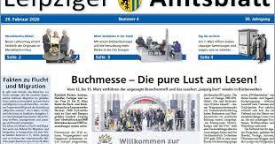 Mã Bel Kã Chen Im Angebot Leipziger Amtsblatt Nr 4 2020 Stadt Leipzig