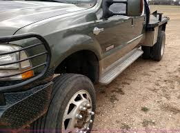 Cannonball Bale Beds by 2004 Ford F350 Super Duty Lariat King Ranch Crew Cab Flatbed