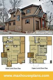 Rustic House Plan With Porches Stone And Photos