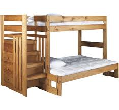 Badcock Bunk Beds by Cabin Retreat Twin Full Stair Bed Badcock U0026more