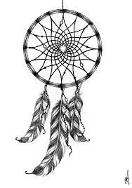 Wolf Dreamcatcher Tribal Tattoo Design Photo 2