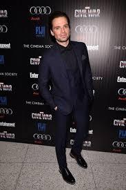Captain America Civil War New York City Premiere Sebastian Stan