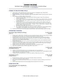 Sample Telemarketing Director Resume Experienced Telemarketer