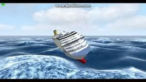 cruise ship sinks after collision tanker stays like poseidon