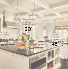 kitchen island light height home design interior and exterior spirit