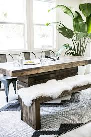 Best 25 Dining Table Bench Ideas On Pinterest Kitchen In Room Design 16