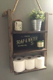 Decorate Bathroom Shelves Incredible Best Rustic Decor Ideas On Half Wood