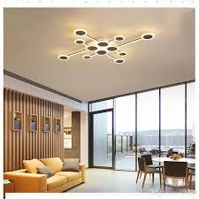 großhandel led deckenle geformt kreative nordische einfache moderne schlafzimmer wohnzimmer studie esszimmer schaufenster rc dimmbare