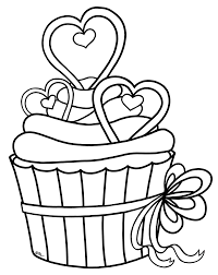 Cupcake Outline Clip Art Cliparts Co Ulppvv Clipart