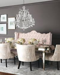 Settee Dining Room Table With Extra Extraordinary Home