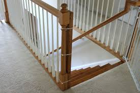 Best Baby Gate For Top Of Stairs With Banister Installing A Baby ... My Humongous Diy Stairs Fail Kiss My List Southern Fabrications Staircases Poole Dorset Steelwork Staircase Without Railing 2 Best Staircase Ideas Design Spiral A Newel Post And Handrail Suited For A Back Old Town Home Our Stair Rail Is In Remodelaholic Banister Makeover Using Gel Stain The 25 Best Ideas On Pinterest Banisters No Banister At Bottom Stuff Choosing Runner Some Inspiration Lessons Learned Baby Toolkit Mind The Gaps Babyproofing How To Angies Gate Model Bottom Of