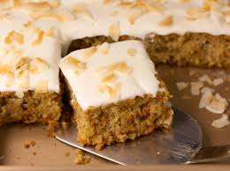 Tropical Carrot Cake Recipe With Coconut Cream Frosting