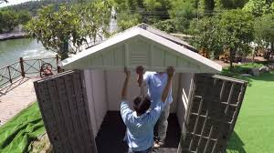Everton 8 X 12 Wood Storage Shed by Kinying Plastic Garden Shed Ky Gs002 Youtube