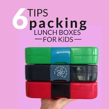 Practical Guidelines For Packing Healthy Lunch Boxes Children