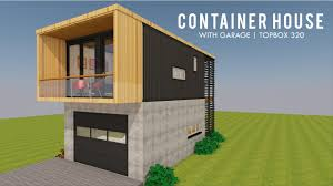 100 Modular Shipping Container Homes Tiny House Design With Garage Floor Plans TOPBOX 320