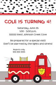100 Fire Truck Birthday Party Invitations Custom Invitation Man Party Man
