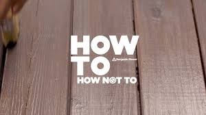 Restaining A Deck Do It Yourself how to stain a deck right arborcoat stain by benjamin moore