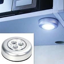 details zu 3er set touch led regal schrank möbel le batteriebetrieb unterbau leuchte