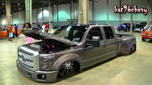 CUSTOM BAGGED '05 Ford F-350 Dually Truck On 28