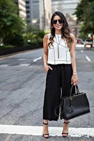 pantalon gaucho conseils et inspiration pour porter la jupe culotte
