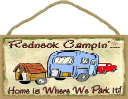 Rv Camping Cartoon Clipart Redneck Camper