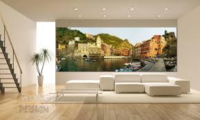 glasbild im wohnzimmer mitko glas design moderne
