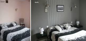 chambre tapisserie deco duo creativ décoration chambre grise duo creativ