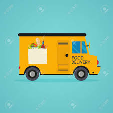 100 Delivery Truck Clipart Grocery Truck Free On Dumielauxepicesnet