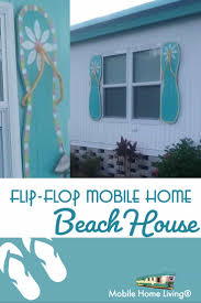100 Flip Flop Homes Colorful Coastal Mobile Home And How To Build Shutters