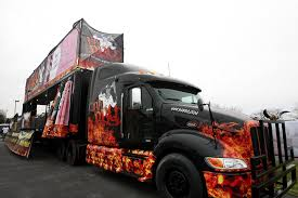 100 Grills For Trucks BA BBQ Turns 18wheeler Into Food Truck With 10 Grills Wood