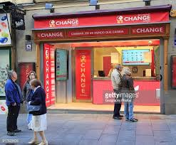 un bureau de change bureau de change exchange best and fast shop in madrid city