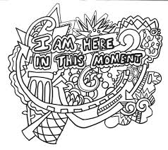 This Is A Printable Pdf File Containing 12 Coloring Pages Included Are Different Affirmation