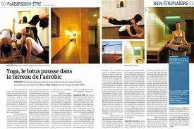 Two Page Spread In Popular Swiss Magazine LHebdo About INNERCITYOGA Mission Of Urban