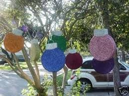 Outdoor Christmas Decorations Ideas To Make by 25 Unique Large Outdoor Christmas Decorations Ideas On Pinterest