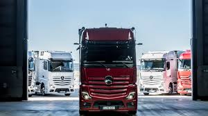 100 Mercedes Semi Truck Meet Benz Brand New Actros Truck