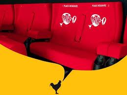 cinema fauteuil 2 places nouveau cinéma pathé à levallois perret salles cinema