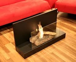Modern Fire Vertigo Freestanding Floor Indoor Ethanol Burning Bio