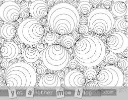 Coloring Page For Grown Ups Geometric Circles