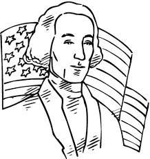 Click To See Printable Version Of George Washington First President The USA Coloring Page