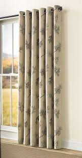 Grommet Insulated Curtain Liners by Plow U0026 Hearth Thermalogic Insulated Peaceful Pine Grommet Top