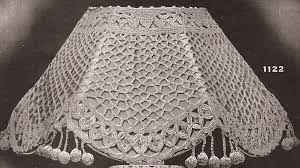 Ebay Antique Lamps Vintage by Vintage Antique Crochet Lampshade Shade Pattern 1900s Ebay